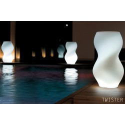 Maceta decoracion luminosa TWISTER